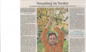 Dr. Rajesh will be teaching a yoga certification program, hosted by Kaohsiung Yogi, in August 2014.